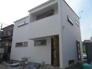 茅ヶ崎 注文住宅 漆喰
